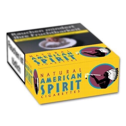 American Spirit Orig. Yellow Big Pack [10 x 22] online kaufen