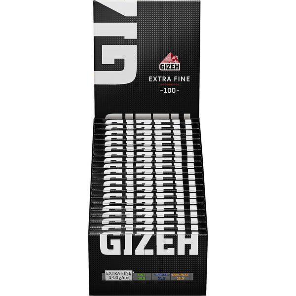 Gizeh Papier Extra Fine mit Magnet (weiß) 20 Packs à 100 Blättchen online kaufen