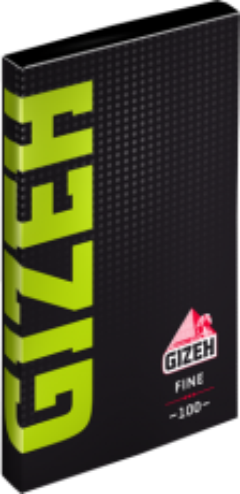 Gizeh Papier Fine mit Magnet (grün) 100 Blättchen online kaufen