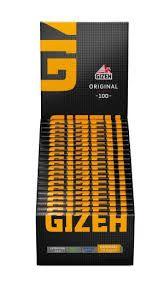 Gizeh Papier Original mit Magnet (gelb) 20 Packs à 100 Blättchen online kaufen