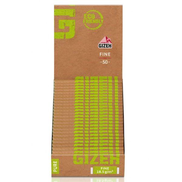 Gizeh Papier Pure Fine Regular 25 Packs à 50 Blättchen online kaufen
