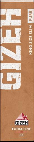 Gizeh Papier Pure King Size Slim 33 Blättchen online kaufen