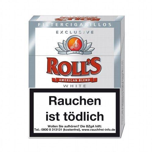 Roll's Exclusiv White 8 x 23 Filter Zigarillos online kaufen