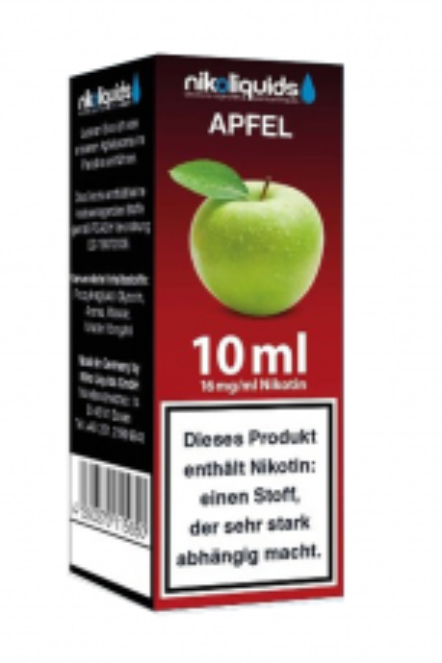 eLiquid Apfel 10 ml 16 mg Nikotin online kaufen
