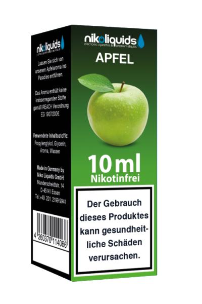 eLiquid Apfel 10 ml Nikotinfrei online kaufen