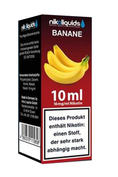 eLiquid Banane 10 ml 16mg Nikotin online kaufen
