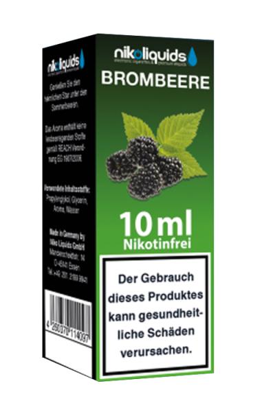 eLiquid Brombeere 10 x 10 ml Nikotinfrei online kaufen