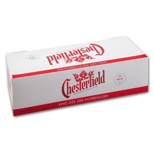 Chesterfield Full Flavor 200 Hülsen