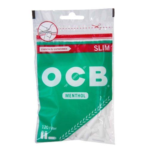 OCB Menthol Filter Slim 120 Tips