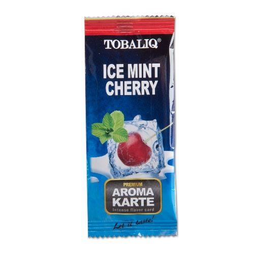 TOBALIQ Aromakarte Ice Mint Cherry [1 Karte]