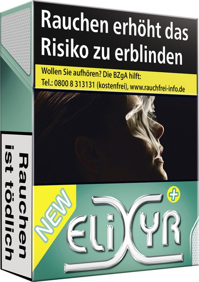Elixyr Green Zigaretten + [8 x 23]