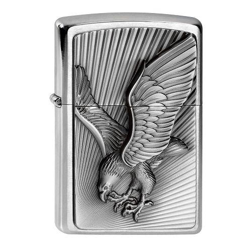 Zippo chrom gebürstet Eagle 2003979