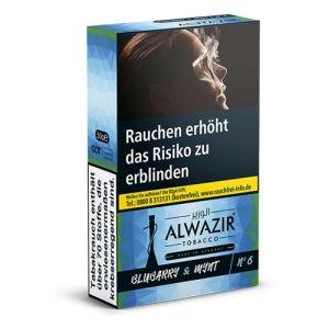 ALWAZIR Bluberry Mynt No 6 [50 Gramm] online kaufen