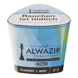 ALWAZIR Bluberry Mynt No 6 [250 Gramm] online kaufen