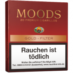 Dannemann Moods Gold Filter [1 x 20] online kaufen
