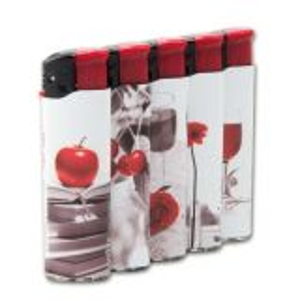 Einwegfeuerzeug Piezo UNILITE Red delight Steller mit 50 Stück online kaufen