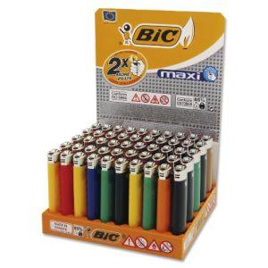 Einwegfeuerzeug Stein BIC Maxi neutral farbl. sortiert Steller 50 St. online kaufen