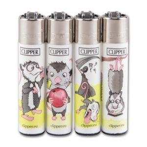 Einwegfeuerzeug Stein CLIPPER Opossum / Steller mit 48 Stück online kaufen