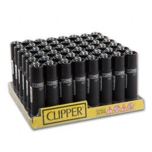Einwegfeuerzeug Stein CLIPPER Soft Touch & Black Cap Steller mit 48 St online kaufen