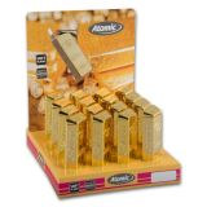 Feuerzeug (16) Piezo ATOMIC Goldbarren online kaufen