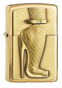 Feuerzeug Zippo - Brushed Brass