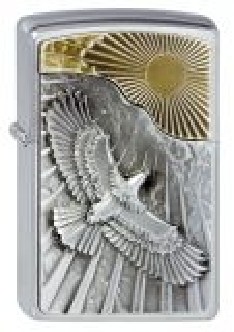 Feuerzeug Zippo - Eagle Sun-Fly Emblem