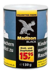 Madison Black [120 GRAMM]