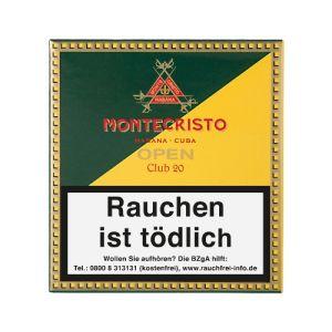 Montecristo Open Club [1 x 20] online kaufen