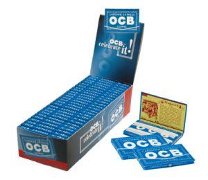 OCB Papier Blau mit Gummizug 25 Packs à 100 Blättchen online kaufen