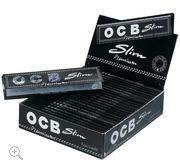 OCB Papier schwarz Premium Long Slim 50 Packs à 32 Blättchen online kaufen