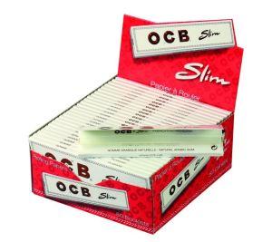 OCB Papier weiß Long Slim 50 Packs à 32 Blättchen online kaufen