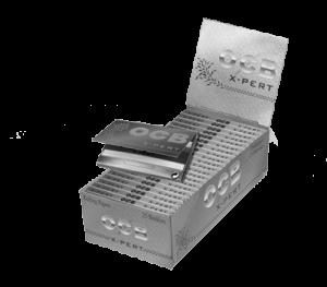 OCB X-Pert silber Kurz 25 Packs à 100 Blättchen online kaufen