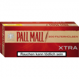 Pall Mall Authentic Red Xtra 200 Hülsen online kaufen