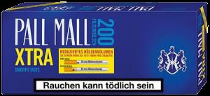Pall Mall Blau Xtra 200 Hülsen online kaufen