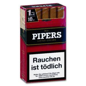 Piper's Little Cigars Cherry/Red [10 x 10] online kaufen