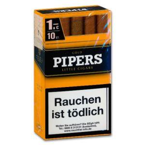 Pipers Little Cigars Vanilla/Gold [10 x 10] online kaufen