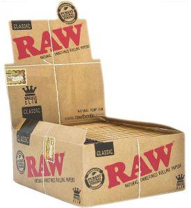 Raw Classic King Size Slim 50 Packs à 32 Blättchen online kaufen