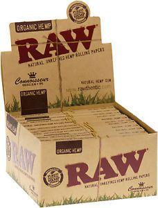 Raw Organic Hemp Connisseur 24 Packs à 32 Blättchen online kaufen