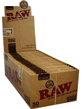Raw Organic Hemp Single Wide 50 Packs à 50 Blättchen online kaufen