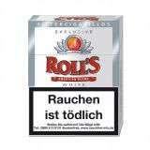 Roll's Exclusiv White 23 Filter Zigarillos online kaufen