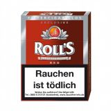 Roll's Exclusive Red Natur-Deckblatt 23 Filter Zigarillos online kaufen