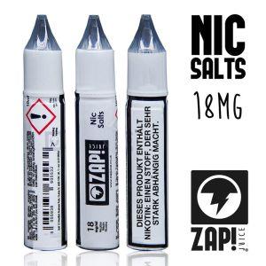 ZAP! Juice Nic Salt Shots (18 mg/ml) [10 ml] online kaufen