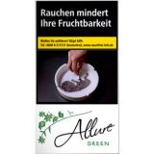 Zigaretten Allure Green 100er [10 x 40] online kaufen