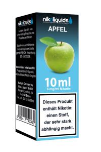 eLiquid Apfel 10 ml 8 mg Nikotin online kaufen