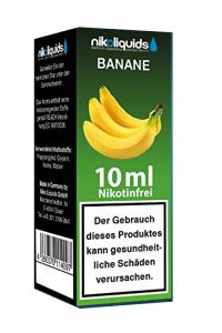 eLiquid Banane 10 ml Nikotinfrei online kaufen