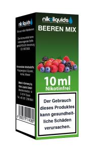 eLiquid Beerenmix 10 ml Nikotinfrei online kaufen