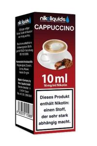 eLiquid Cappuccino 10 ml 16mg Nikotin online kaufen