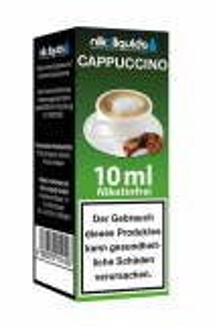 eLiquid Cappuccino 10 ml Nikotinfrei online kaufen