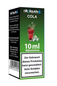 eLiquid Cola 10 x 10 ml Nikotinfrei online kaufen