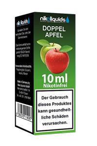 eLiquid Doppel Apfel 10 ml Nikotinfrei online kaufen